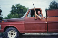Trick-o-Treat Pick Up Truck:  Neighbor from My Childhood Evokes Harrowing Halloween Memory